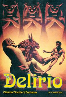 Portada de Delirio Nº 11 (marzo 2013): Ciencia Ficcion Y Fantasia
