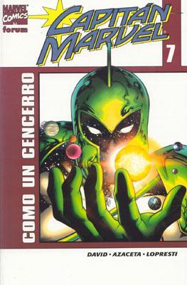 Portada de 4gd6: Capitan Marvel (vol. Ii) Nº 7