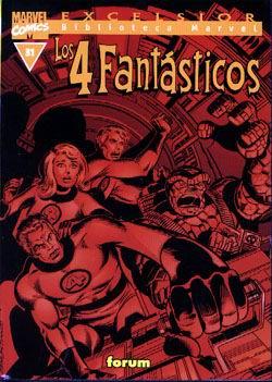 Portada de Los 4 Fantasticos Nº 31 (biblioteca Marvel V.i)