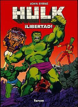 Portada de Hulk: ¡la Libertad!