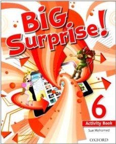 Portada de Big Surprise 6º Primaria Ab+mrom Pk  Ed 2013