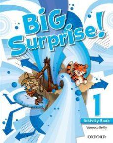 Portada de Big Surprise 1º Primaria Ab  Ed 2013