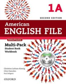 Portada de American English File 2e 1a Multi Pk