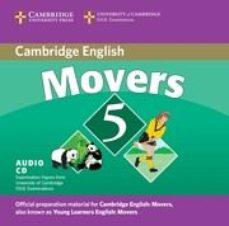 Portada de Movers 5: Cambridge Young Learners English Tests (audio Cd)