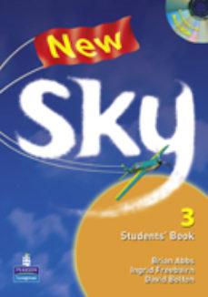 Portada de New Sky Student S Book 3º Eso