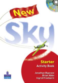 Portada de New Sky Starter Workbook 1º Eso