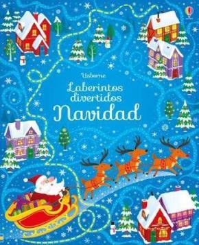 Portada de Laberintos Divertidos – Navidad –