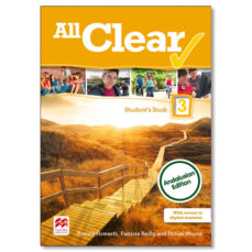 Portada de All Clear 3 Secondary Students Book Pack Andalucia