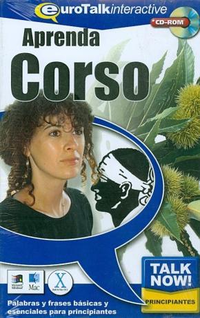 Portada de Talk Now! Learn Corso (beginners) (cd-romi