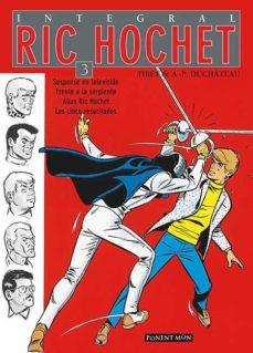 Portada de Ric Hochet Integral 3
