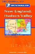 Portada de New England, Hudson Valley (ref. 581) (1:500000)