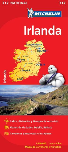 Portada de Mapa Irlanda 2012 (ref. 712)