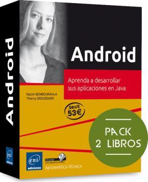 Portada de Android (pack De 2 Libros: Aprenda A Desarrollar Sus Aplicaciones En Java)