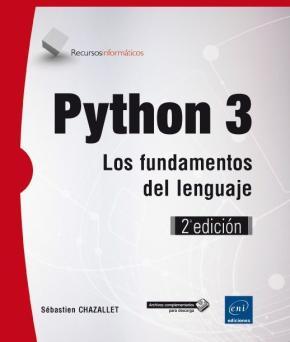 Portada de Python 3: Los Fundamentos Del Lenguaje (2ª Edicion)