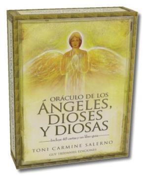 Portada de Oraculo De Los Angeles, Dioses Y Diosas (cartas)