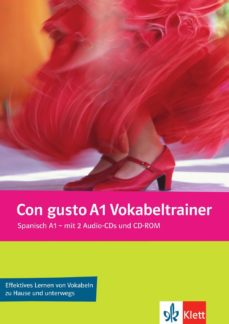 Portada de Con Gusto A1 Vokabeltrainer. Vokabelheft + 2 Audio-cds + Cd-rom (pc/mac) (vocabulario)