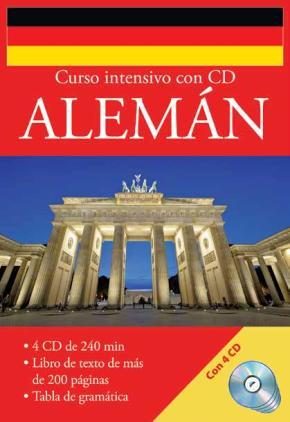 Portada de Curso Intensivo Con Cd Aleman (incluye 4 Cds)