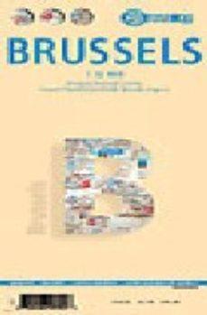 Portada de Bruselas, Plano Callejero (1:12000)
