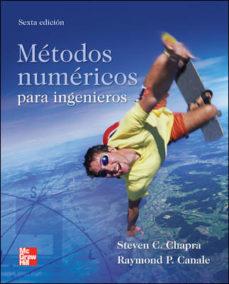 Portada de Metodos Numericos Para Ingenieros (6ª Ed)