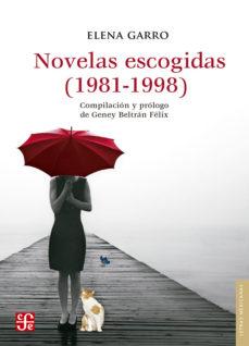 Portada de Novelas Escogidas (1981-1998)