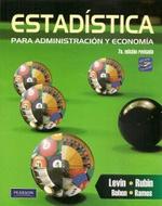 Portada de Estadistica Para Administracion Y Economia (7ª Ed.revisada )
