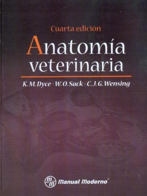 Portada de Anatomia Veterinaria (4ª Ed)