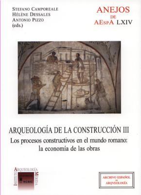 Portada de Arqueologia De La Construccion. Tomo Iii