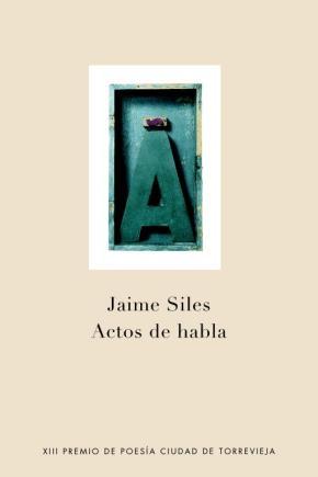 Portada de Actos De Habla (xiii Premio Poesia Torrevieja)