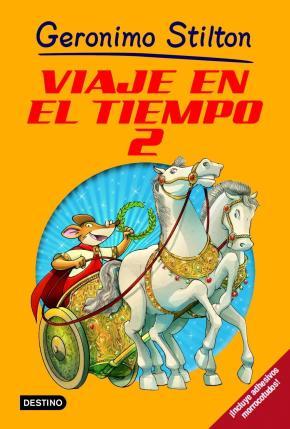 Portada de Viaje En El Tiempo 2 (Geronimo Stilton)
