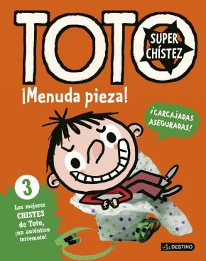 Portada de Toto Superchistez. ¡menuda Pieza!