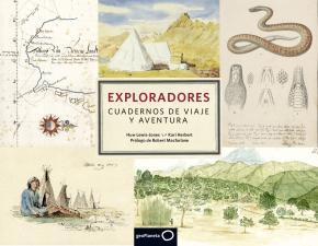 Portada de Exploradores. Cuadernos De Viaje Y Aventura