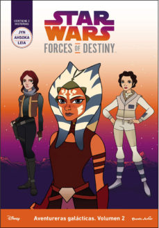 Portada de Star Wars: Forces Of Destiny: Aventureras Galacticas: Volumen 2