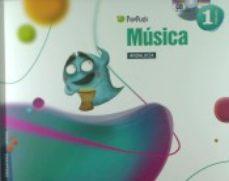 Portada de Musica 1º Educacion Primaria Pixepolis  Andalucia