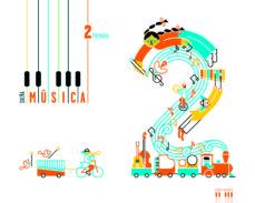 Portada de Musica 2º Educacion Primaria Superpixepolis