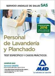 Portada de Personal De Lavanderia Y Planchado Del Servicio Andaluz De Salud. Test Especifico Y Casos Practicos