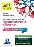 Portada de Cuerpos De Ayudantes Tecnicos Especialidad Agentes De Medio Ambiente De La Junta De Andalucia. Test Del Temario Comun