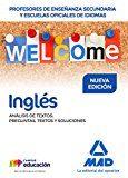 Portada de Profesores De Enseñanza Secundaria Y Escuelas Oficiales De Idiomas Ingles Analisis De Textos: Preguntas, Textos Y Soluciones