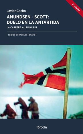 Portada de Amundsen-scott: Duelo En La Antartida