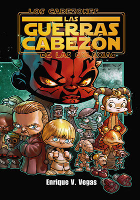 Portada de Los Cabezones De Las Galaxias: Las Guerras Cabezon