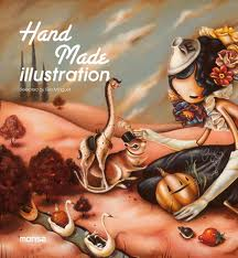 Portada de Hand Made Illustration (ed. Bilingue Español-ingles)