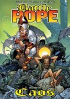 Portada de Battle Pope Nº 2: Caos