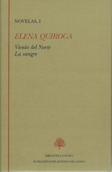 Portada de Novelas, I (viento Del Norte; La Sangre)