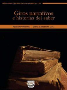 Portada de Giros Narrativos E Historias Del Saber