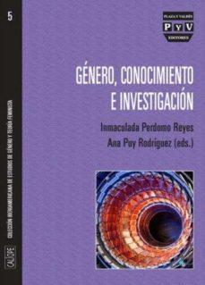 Portada de Genero, Conocimiento E Investigacion