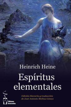 Portada de Espiritus Elementales