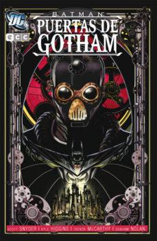 Portada de Batman: Puertas De Gotham