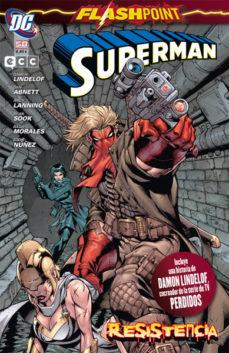 Portada de Superman Nº 58: Flashpoint Resistencia