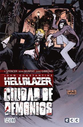 Portada de Hellblazer: Ciudad De Demonios