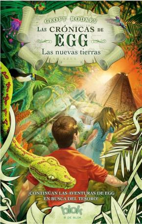 Portada de Las Cronicas De Egg: Las Nuevas Tierras