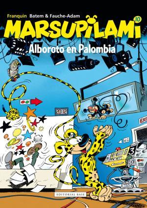 Portada de Marsupilami 10: Alboroto En Palombia